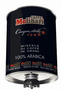 Αγορά Καφές Espresso Molinari σε κόκκο 3kg 100% ARABICA