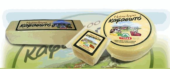 Αγορά Ημίσκληρό τυρί Καφασωτό από φρέσκο παστεριωμένο γάλα αγελάδας