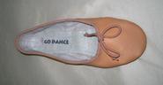 Αγορά Δερμάτινο Παπούτσια Μπαλέτο με split σόλα