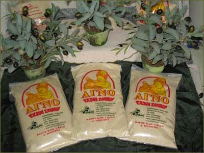 """Αγορά Σαπούνι """"ΑΓΝΟ"""" σε σκόνη - τριμμένο λευκό ή πράσινο"""