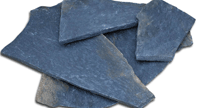 Αγορά Natural stones Polygonal Blue Karystos