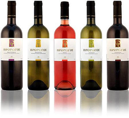 """Αγορά Φρέσκα και αρωματικά κρασιά""""Πρόρωγος"""""""