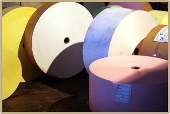 Αγορά Jumbo ρολλών αυτογραφικού χαρτιού.