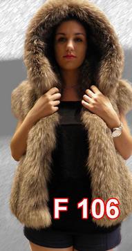 Αγορά Crystal fox vest with hood