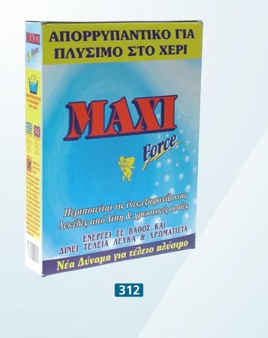 Σκόνη για πλύσιμο στο χέρι 15 κιλών №313