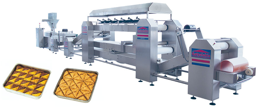 Αγορά Μηχανή παραγωγής φύλλου κρούστας-μπακλαβά τύπου Extrude