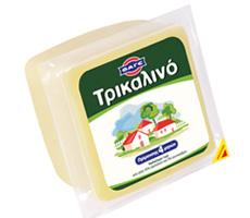 Αγορά Εξαιρετικό ημίσκληρο τυρ Τρικαλινό κομμάτι 750g