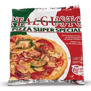 Αγορά Πίτσα Italgust, Πίτσα Ατομική, Πίτσα Family