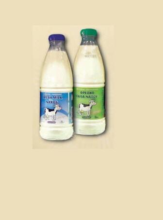 Αγορά Φρέσκο γάλα σε μπουκάλια του 1/2λτ και 1 λιτρου