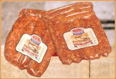 Λουκανικο χωριατικο από βοδινό και πρόβειο κρέας