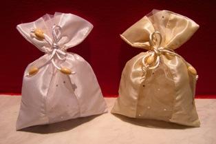 Αγορά Μπομπονιέρες γάμου λευκό - εκρού - ροζ