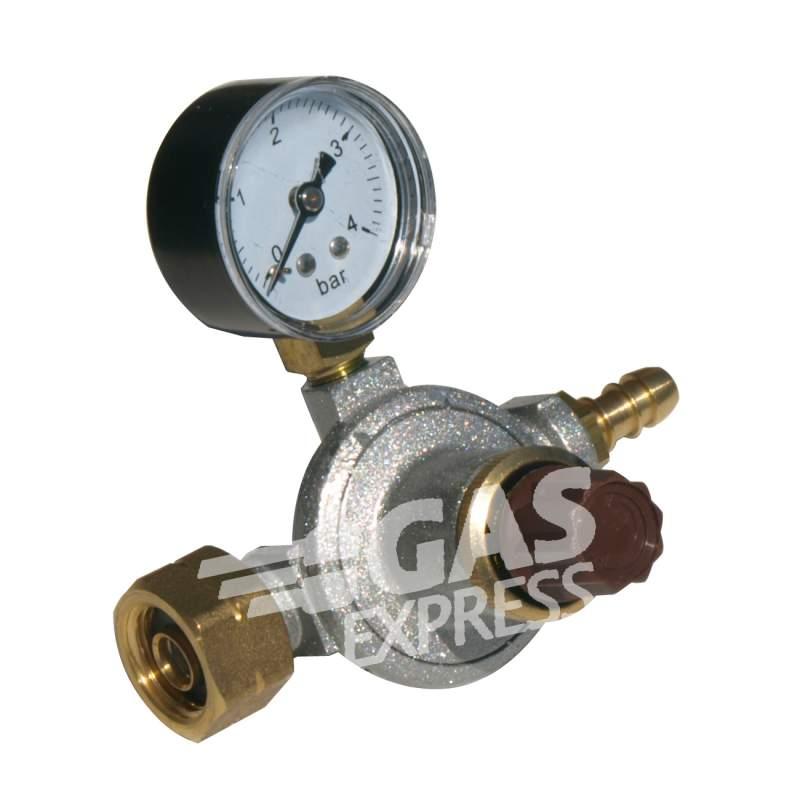Ρυθμιστης υψηλης πιεσης 12 Kg, με μανομετρο