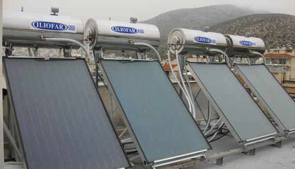 Αγορά Ηλιακοί θερμοσίφωνες