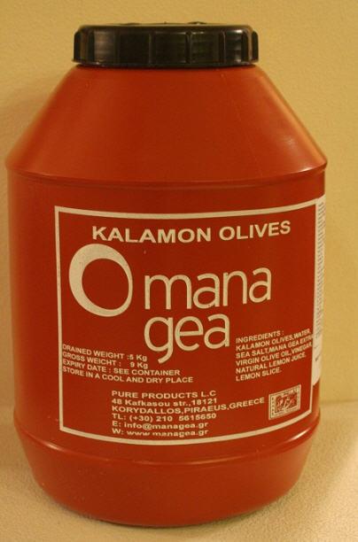Αγορά Mana Gea Kalamon Olives, 5 kg