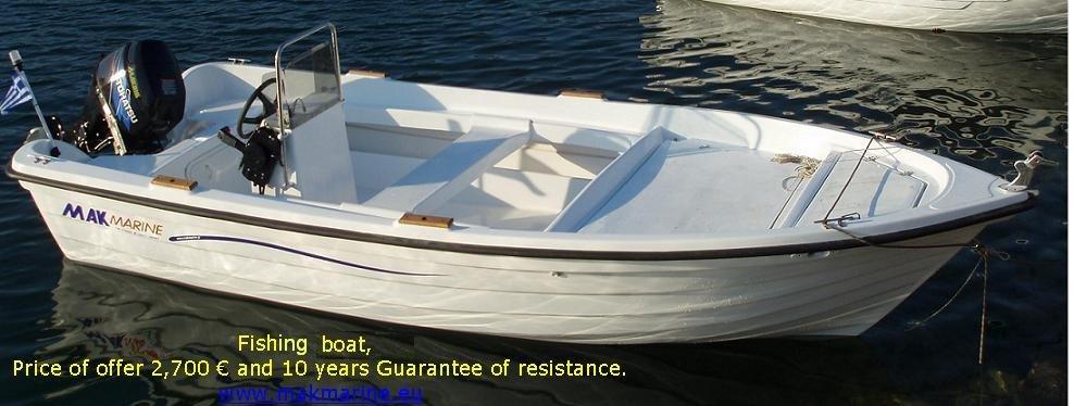 Αγορά Βαρκες, σκαφη, φουσκωτα, Mak Marine Boats (Mak 465 PA)