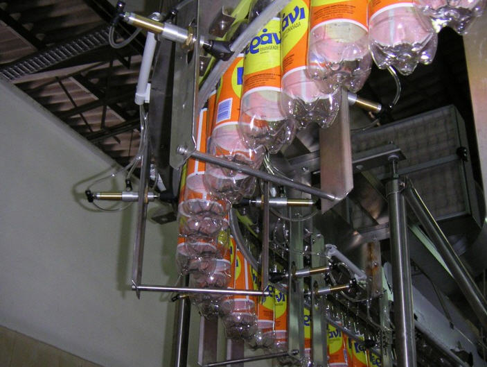Buy Conveyor systems to move the bottles