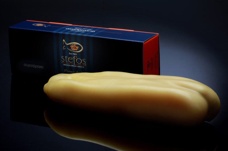 Αγορά Παραδοσιακό αυγοτάραχο / Traditional Botargo Stefos without preservatives with a distinct yet delicate taste