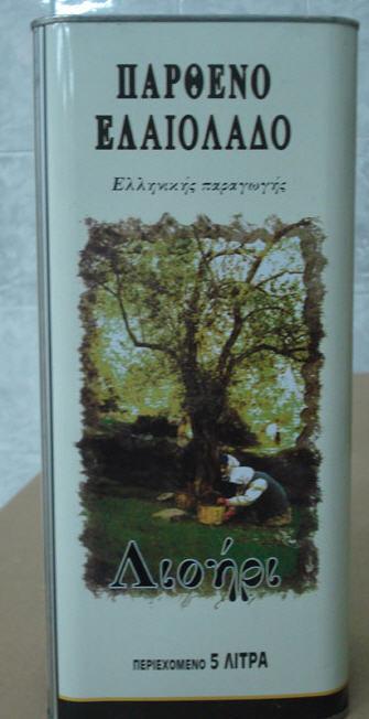 Αγορά Extra Παρθενο Ελαιολαδο Vagias σε δοχειο μεταλλικο 5 Lit / 3 Lit.