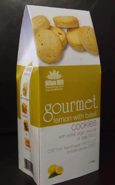 Αγορά Gourmet coockies LEMON with BASIL (Biscuit)