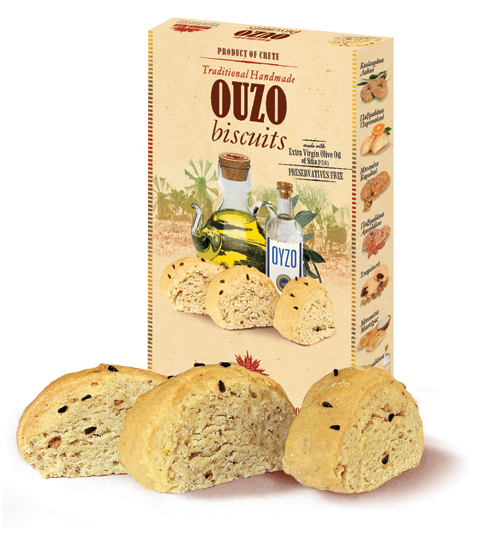 Αγορά Sitian Mill Biscuits Ouzo (Biscuit)