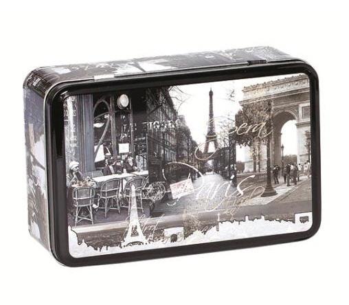 Αγορά Ορθογωνιο μεταλλικο κουτι με καπακι μη αποσπωμενο Aris