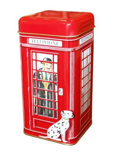 Αγορά Τετραγωνο μεταλλικο κουτι σε σχημα αγγλικου τηλεφωνικου θαλαμου