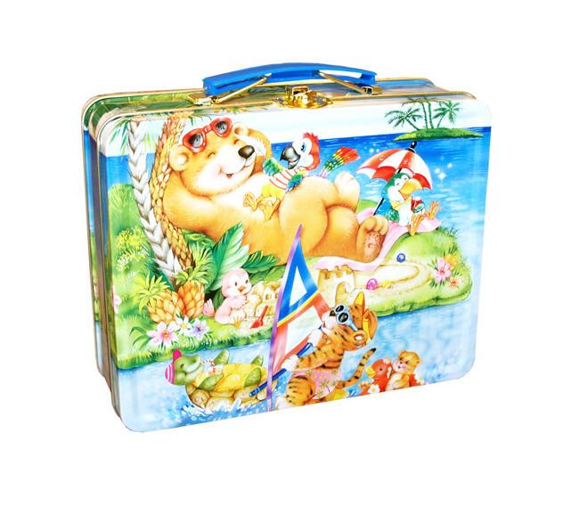 Αγορά Ορθογωνιο μεταλλικο βαλιτσακι / Μεταλλικά κουτιά για παιδιά