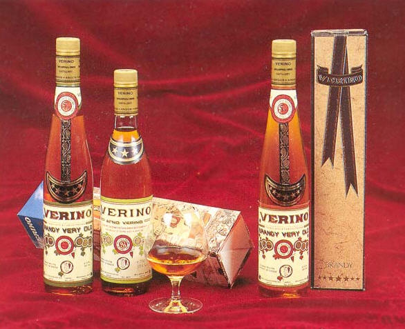 Brandy Verino και Liqueur Verino