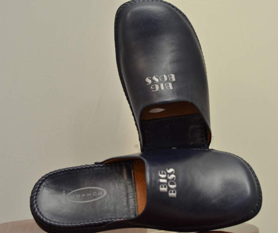 Αγορά Men Leather Slippers