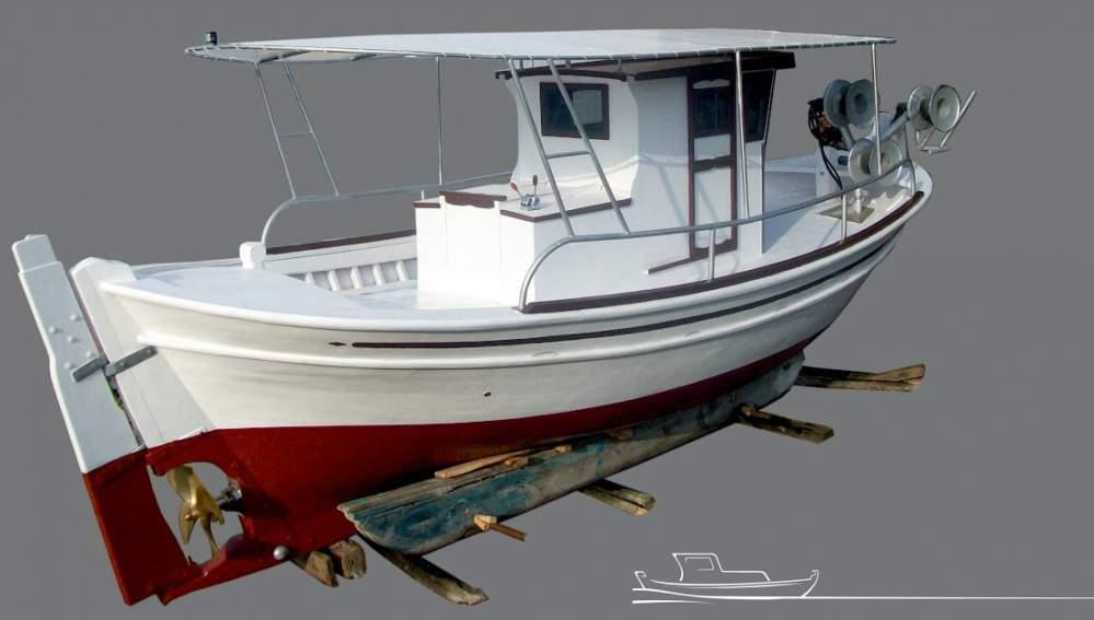 купить рыболовный катер в греции