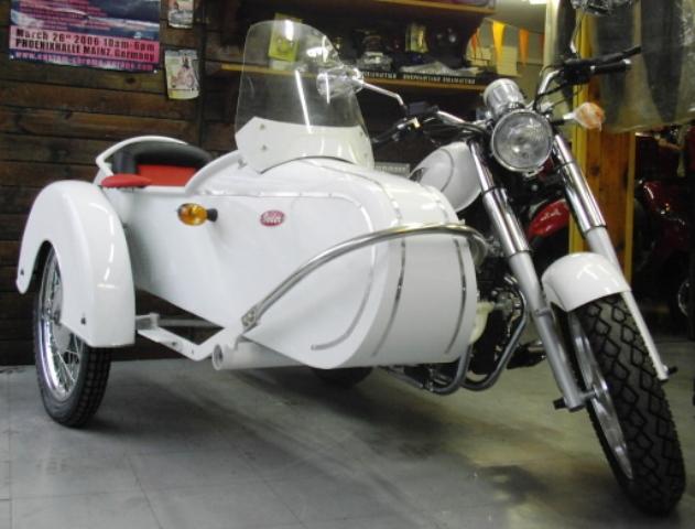Αγορά Motorcycle with sidecar Retro EM125/250