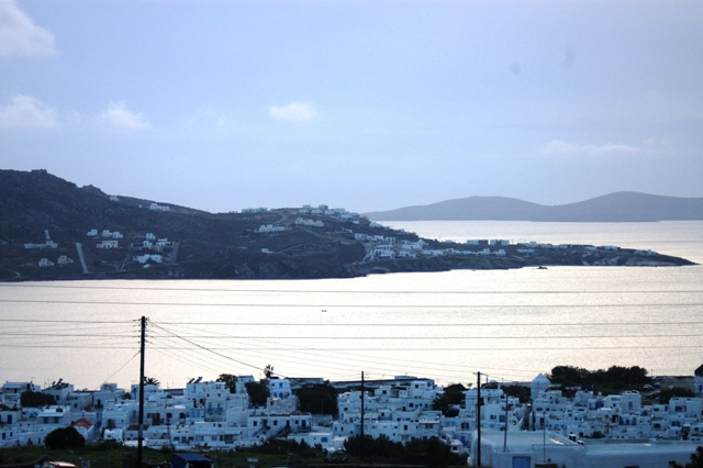 Hotel under construction for sale in Greece, Mykonos, with fantastic sea view