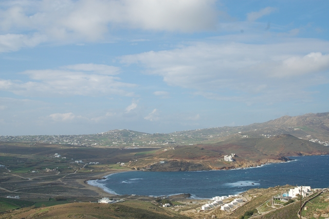 Building plot for sale in Greece, in Mykonos, with fantastic sea view