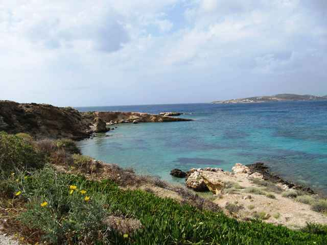 Seafront plot for sale in Naoussa, Paros,Greece