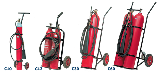 Αγορά Πυροσβεστήρες CO2 Τροχήλατοι