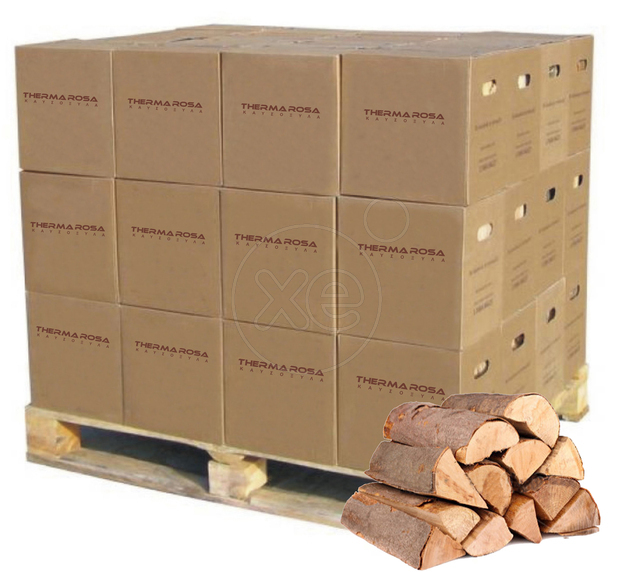 Natural Firewood Beech & Oak in carton box