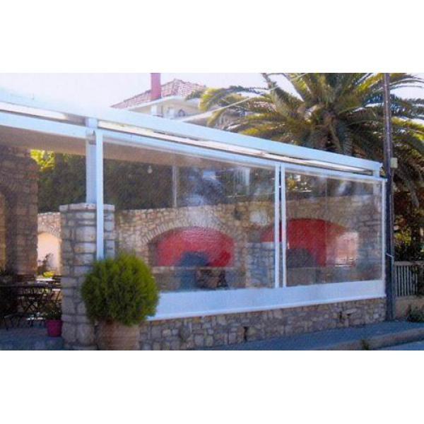 Αγορά ΤΕΝΤΑ ΖΕΛΑΤΙΝΑ, Διαφανής αντιανεμική ζελατίνα κλεισιμο χώρου