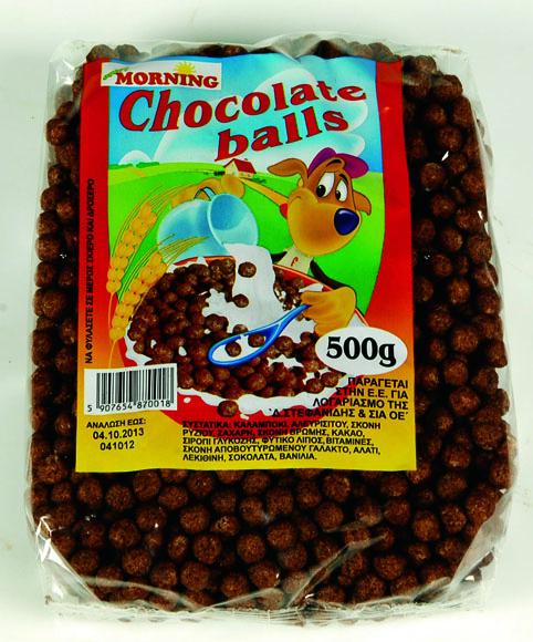 Αγορά CHOCO – BALLS 500 gr