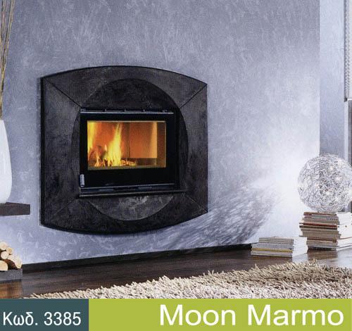 Αγορά Τζάκια τοίχου μοντέλο moon-marmo για όμορφη διακοσμηση!