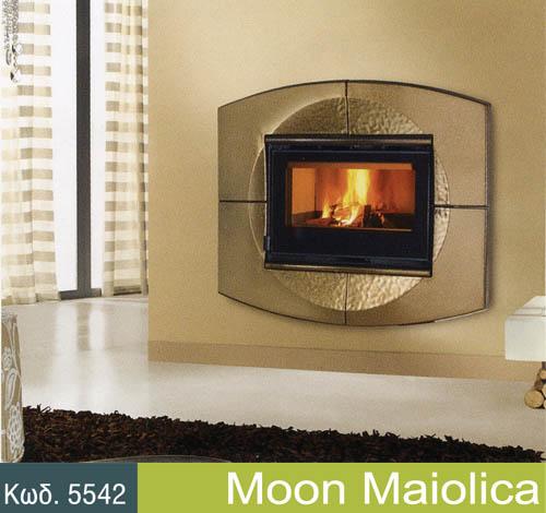 Αγορά Τζάκια τοίχου μοντέλο Moon Maiolica για να ομορφαινει το χώρο σας!