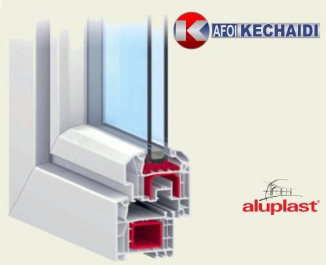 Αγορά Συνθετικά Κουφώματα PVC, IDEAL 4000 ALUPLAST