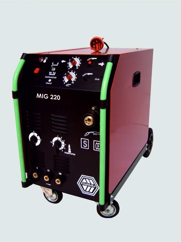 Αγορά MIG Ημιεπαγγελματική Ηλεκτροκόλληση 220 Α (PS3) EG54220, με 5 χρόνια εγγύηση