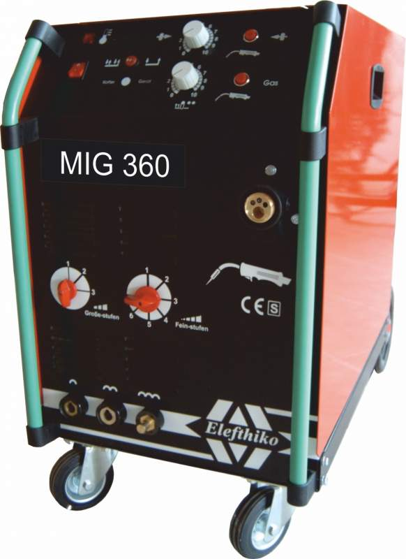 Αγορά MIG Επαγγελματική Αερόψυκτη Ηλεκτροκόλληση βαρύ τύπου 360 Α (PS5) EG54360C2/C4, με 5 χρόνια εγγύηση