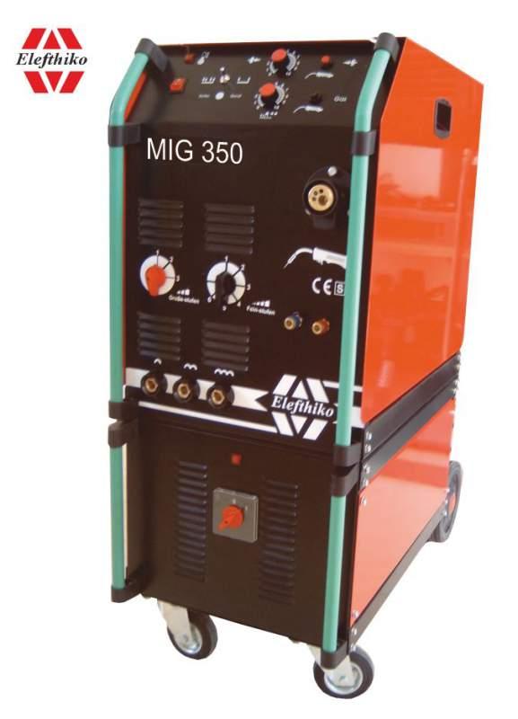 Αγορά MIG Βιομηχανική Υδρόψυκτη Ηλεκτροκόλληση ελαφρύ τύπου 350 Α (PS6) EG54350AY, με 5 χρόνια εγγύηση