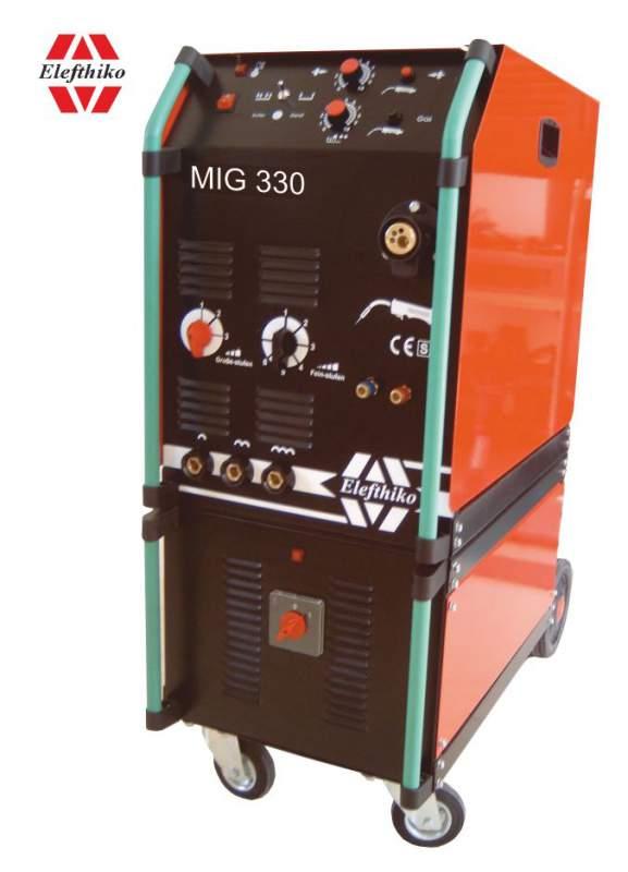 Αγορά MIG Βιομηχανική Υδρόψυκτη Ηλεκτροκόλληση ελαφρύ τύπου 330 Α (PS6) EG54330AY, με 5 χρόνια εγγύηση