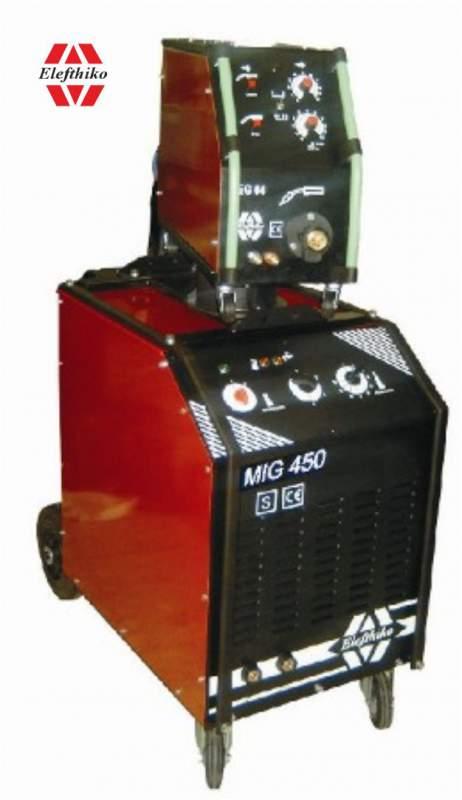 Αγορά MIG Βιομηχανική Υδρόψυκτη Ηλεκτροκόλληση βαρύ τύπου 450 Α (PS11) EG54450A, με 5 χρόνια εγγύηση