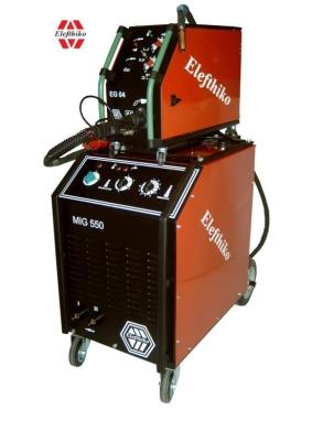 Αγορά MIG Βιομηχανική Υδρόψυκτη Ηλεκτροκόλληση βαρύ τύπου 550 Α (PS11) EG54550A, με 5 χρόνια εγγύηση