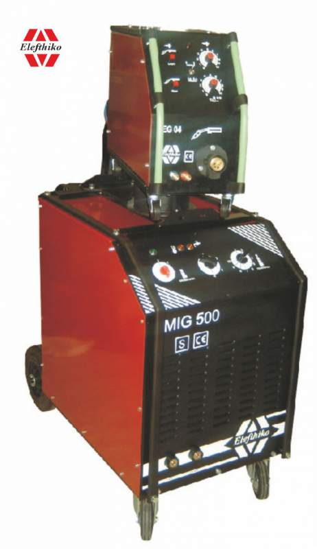 Αγορά MIG Βιομηχανική Υδρόψυκτη Ηλεκτροκόλληση βαρύ τύπου 500 Α (PS11) EG54500A, με 5 χρόνια εγγύηση
