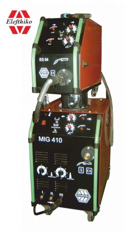 Αγορά MIG Βιομηχανική Αερόψυκτη Ηλεκτροκόλληση ελαφρύ τύπου 410 Α (PS6) EG54330AYK, με Βαλιτσάκι και 5 χρόνια εγγύηση