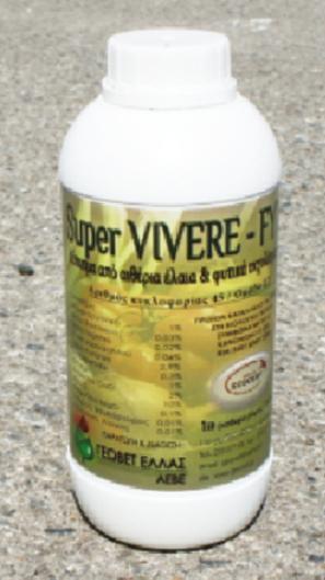 Αγορά Αιθέρια έλαια και φυτικά εκχυλίσματα για Έντομα SUPER VIVERE-FYT